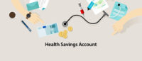 HSA Health Savings Account vector insurance medicare